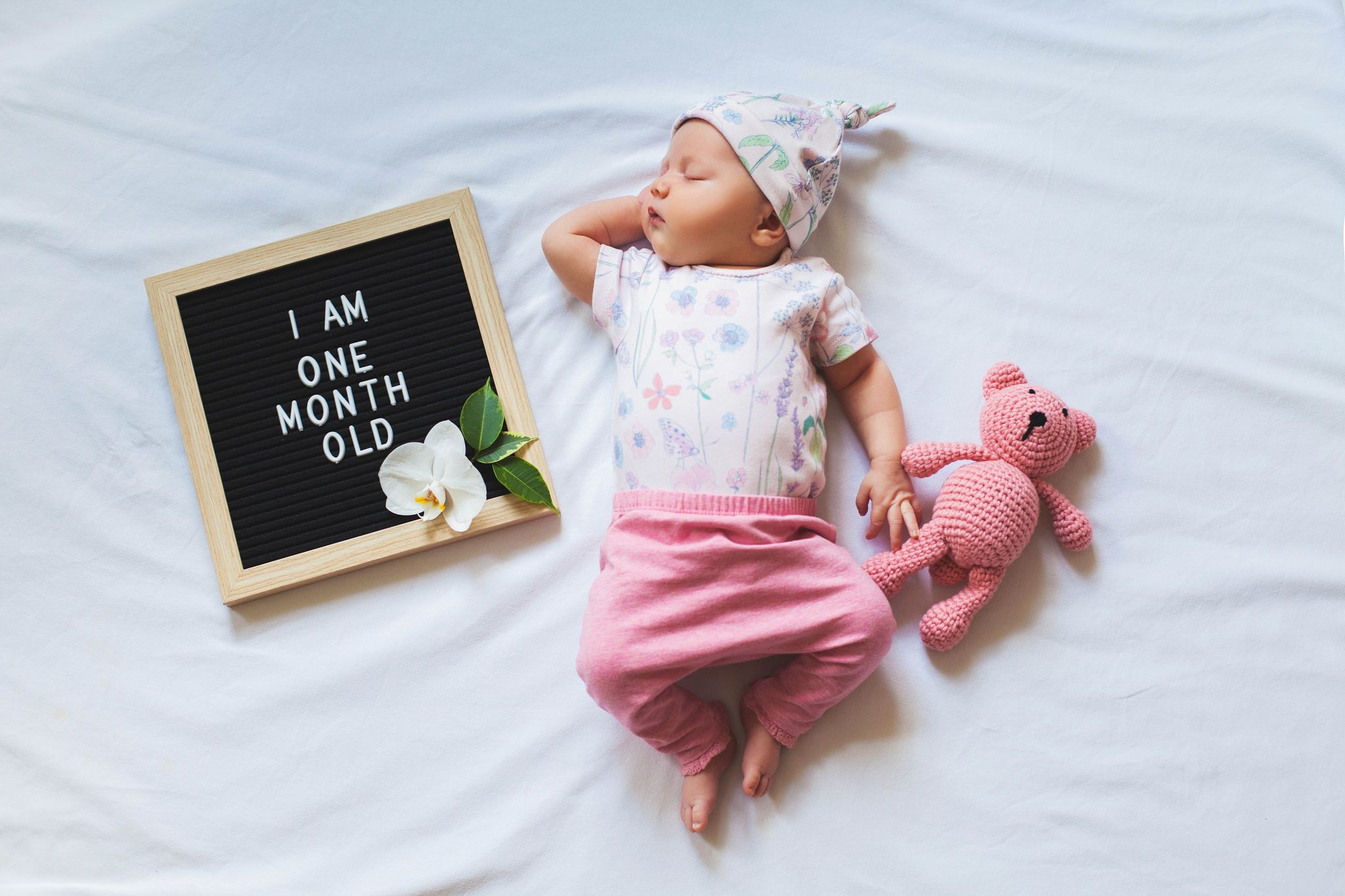 S'occuper d'un bébé 1 mois
