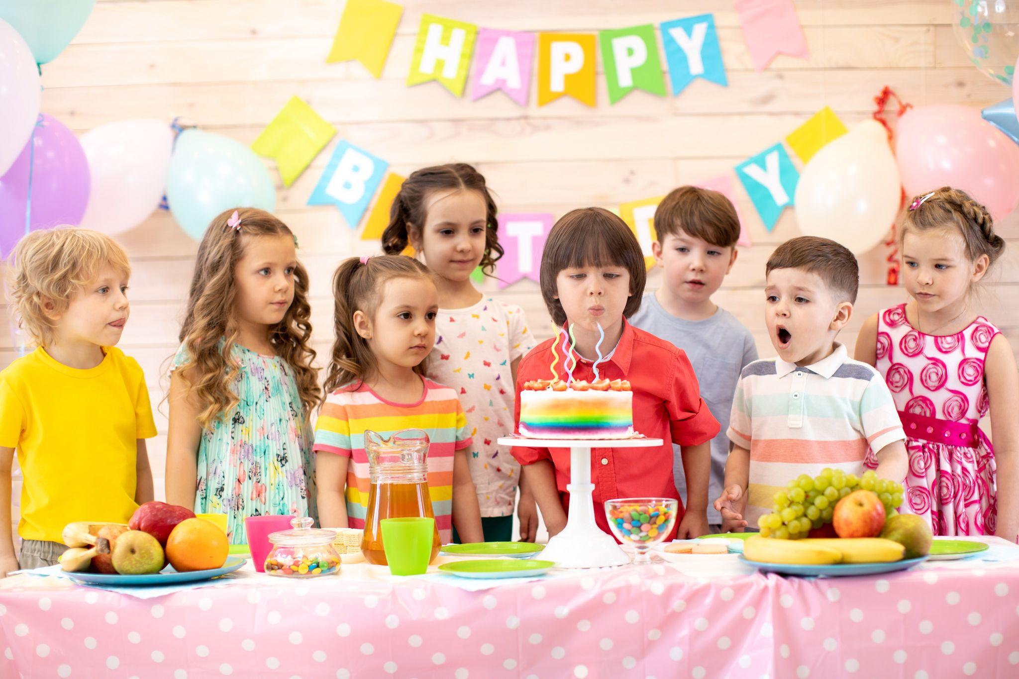 Fêter un anniversaire enfant